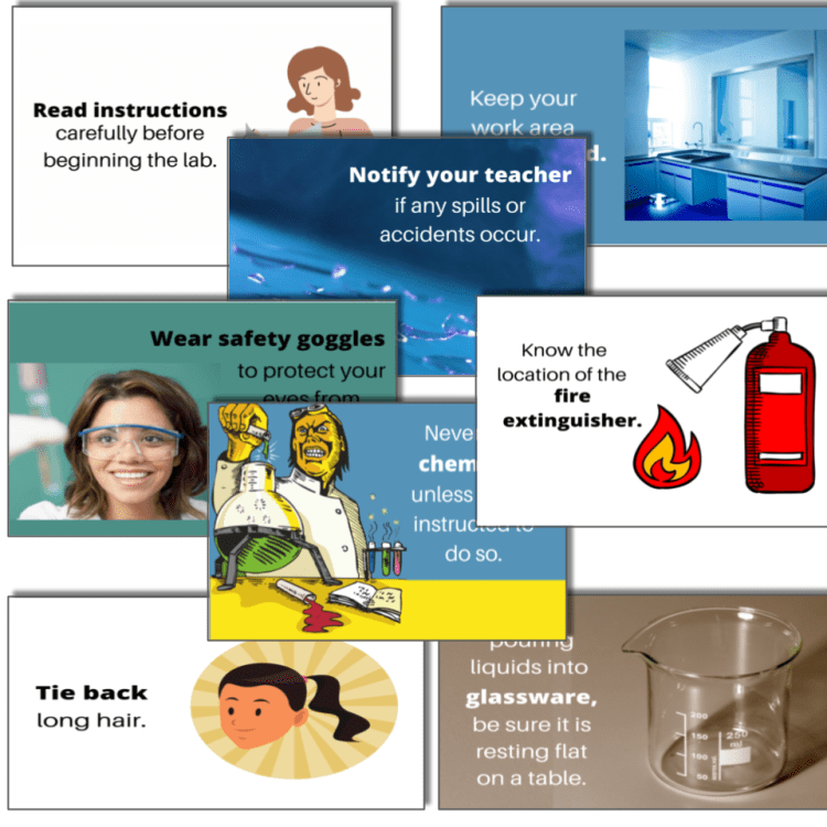 lab safety rules for middle school