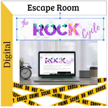 the rock cycle digital escape room