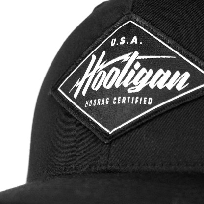 Blacked Out Hooligan Hat 1