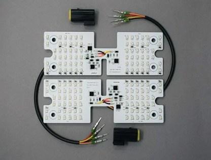 Caterham 7 Rear Light Cluster LED Upgrade Kit