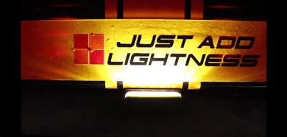 Caterham 7 LED Rear Number Plate Light 1