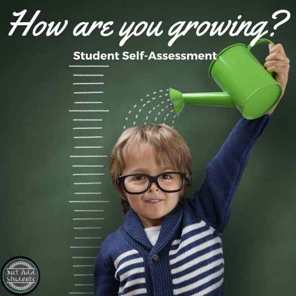 Student self-assessment can help kids keep growing.