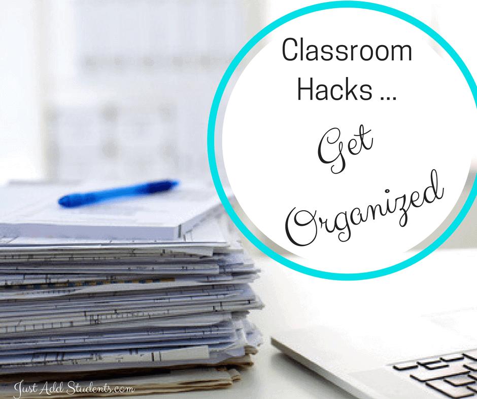 organize classroom ideas