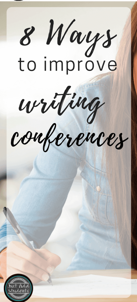 8 Ways to Improve Writing Conferences