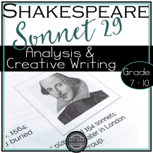 How and why to teach sonnets to students.