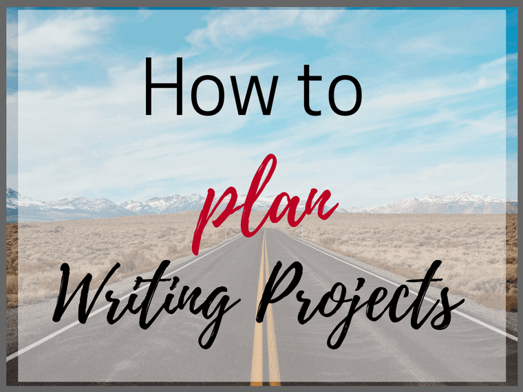 How to plan writing projects for your students