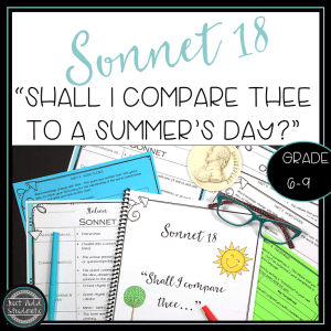 Help your students analyze this popular sonnet and then write their own!