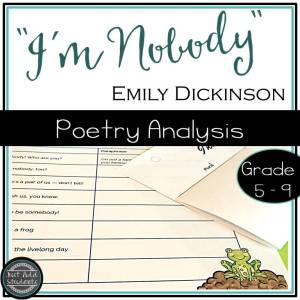 Your students will love this Emily Dickinson poem that still rings true today!