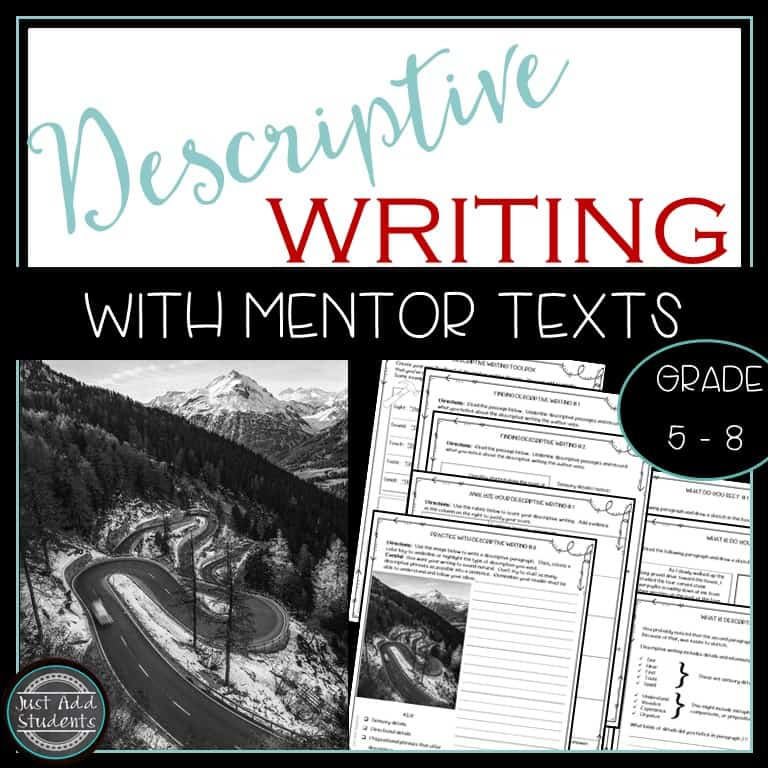 Help improve descriptive writing skills with this easy to use workbook.