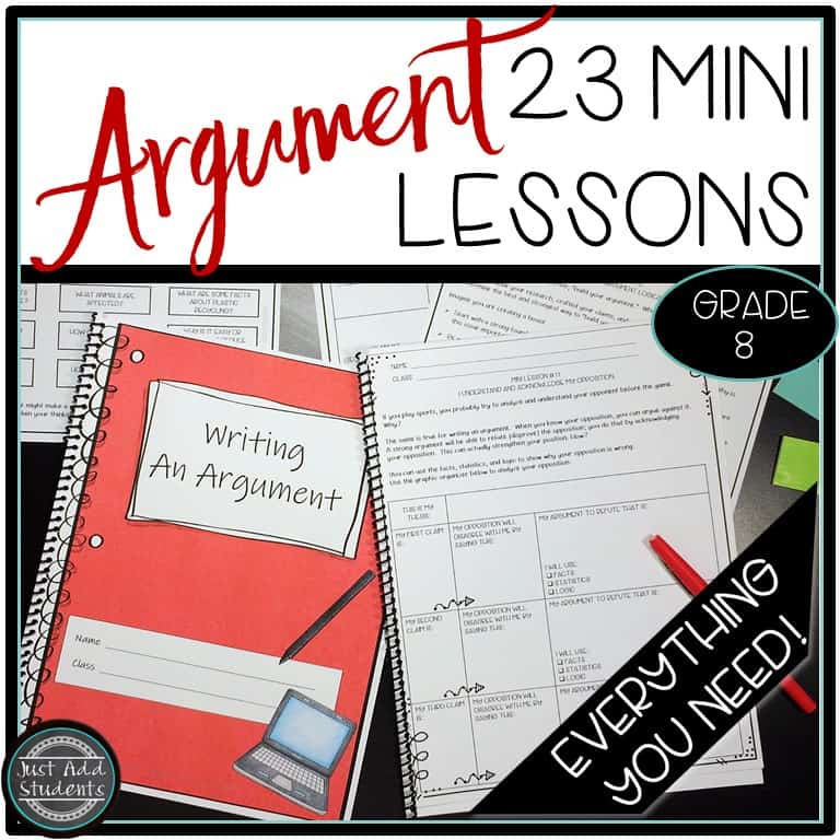 Everything You Need to Teach Argument Writing