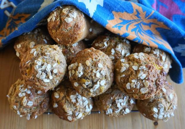 Mango muesli muffins 4