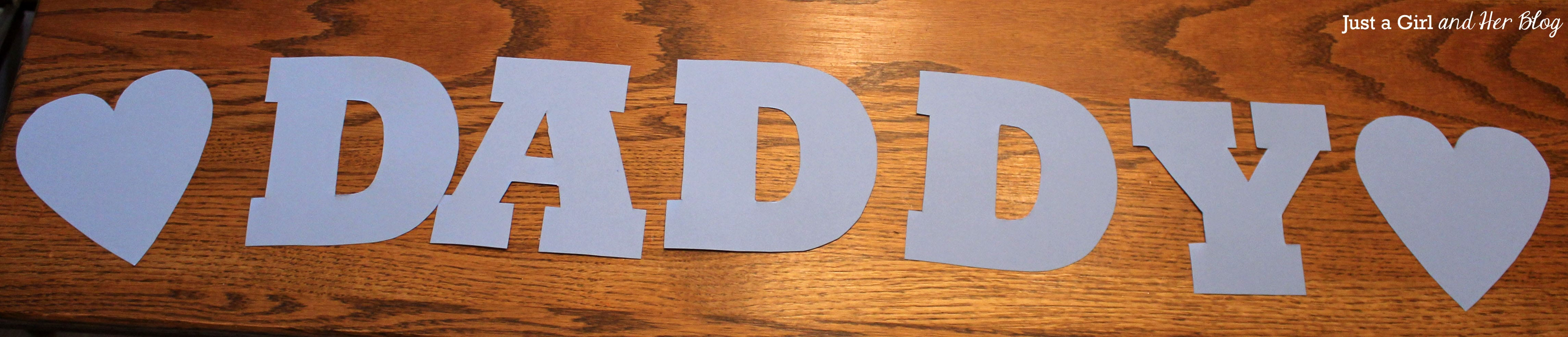 Father's Day Gift, Letters