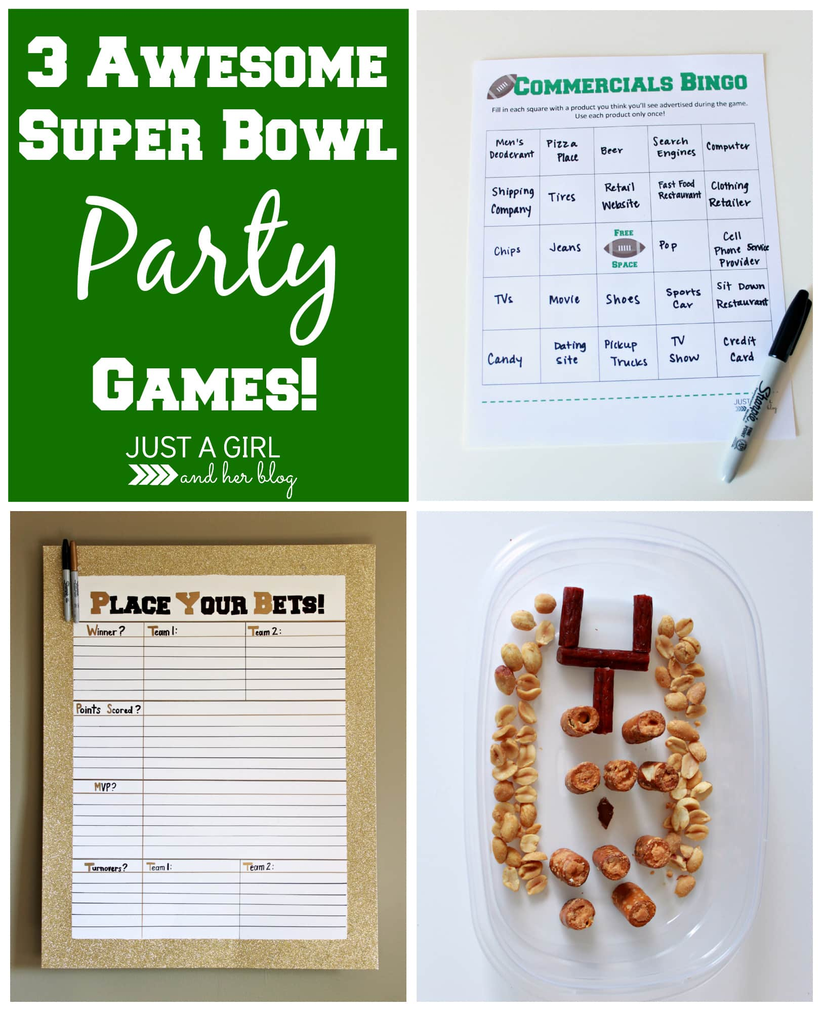 3 Awesome Super Bowl Party Games
