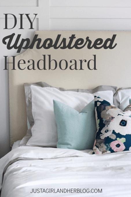 Diy Upholstered Headboard With Nailhead Trim