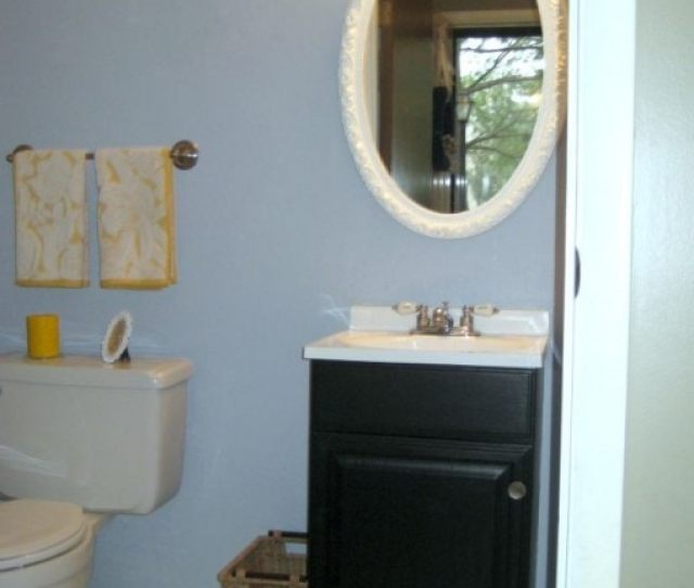 How To Revamp A Powder Room For Less Than  Justagirlandherblog Com