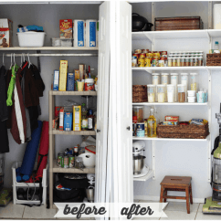 Kitchen Pantry Organizers Mosaic Tiles How To Organize A Just Girl And Her Blog Justagirlandherblog Com