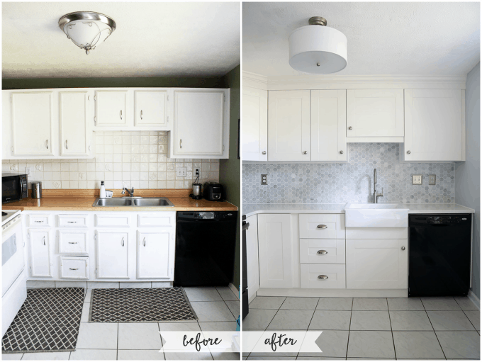 How To Add Crown Molding To Kitchen Cabinets Just A Girl And Her Blog