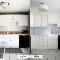 Kitchen Cabinet Crown Molding Flooring Types How To Add Cabinets Just A Girl And Her Blog Install Justagirlandherblog Com