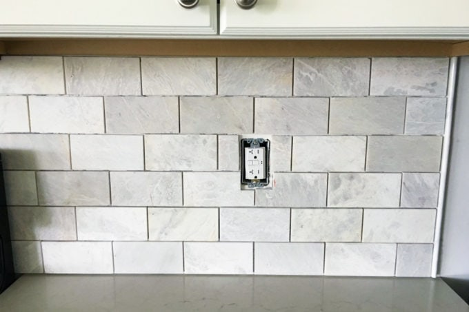 How to Install a Marble Subway Tile Backsplash