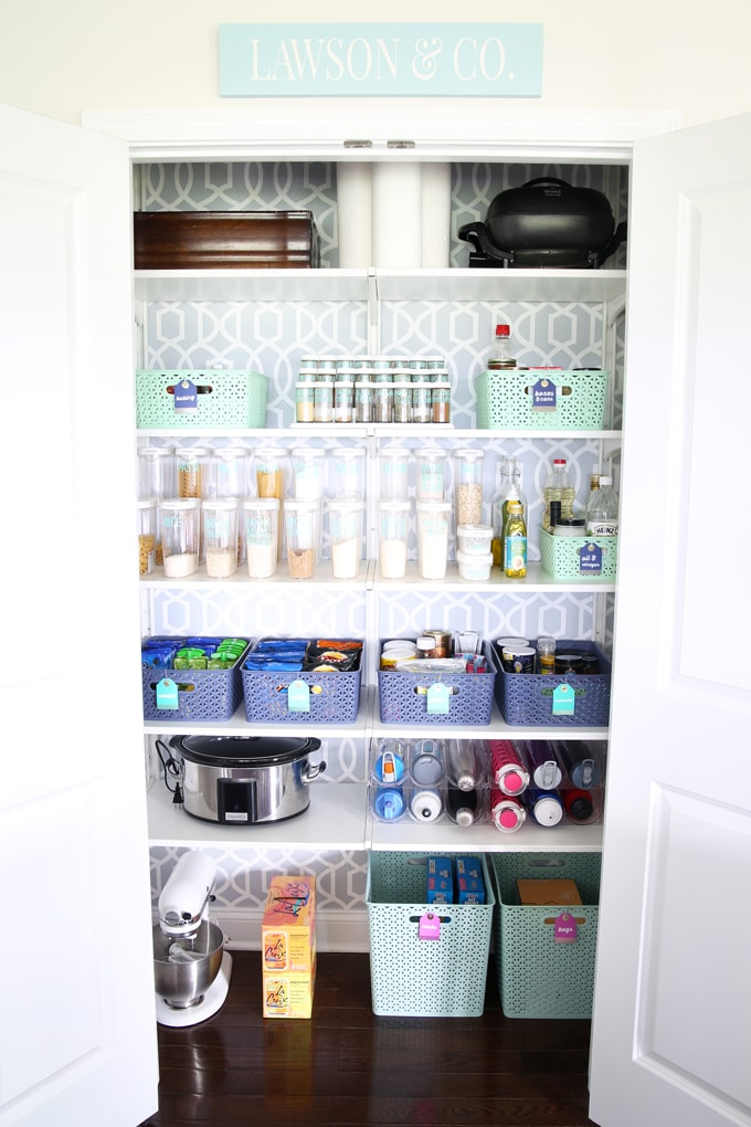 Pin Up Girl Home Wallpaper 5 Tips For Creating A Beautifully Organized Pantry Abby