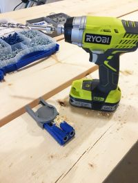 DIY- Farmhouse table build, truss beam table, outdoor ...