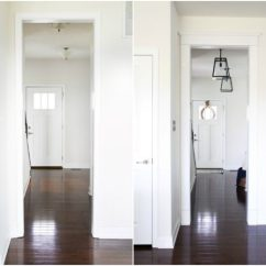 Kitchen Lanterns Sink Drain Installation Our Big Light Swap Just A Girl And Her Blog Home Island Pendant Lights Hallway Changing Fixtures