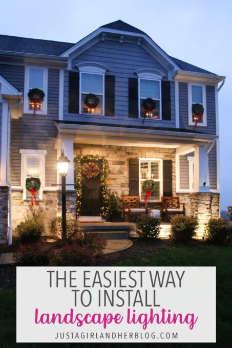 the easiest way to install low voltage