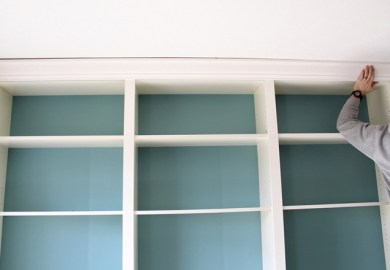 Adding Crown Molding To Bookcase