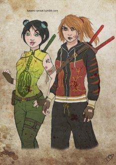 Viper and Tigress