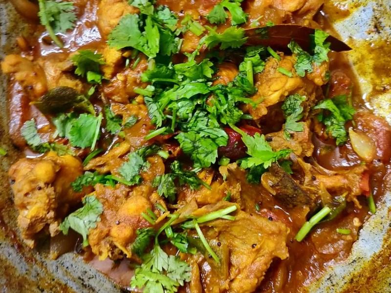 Chennai Style Chicken Curry