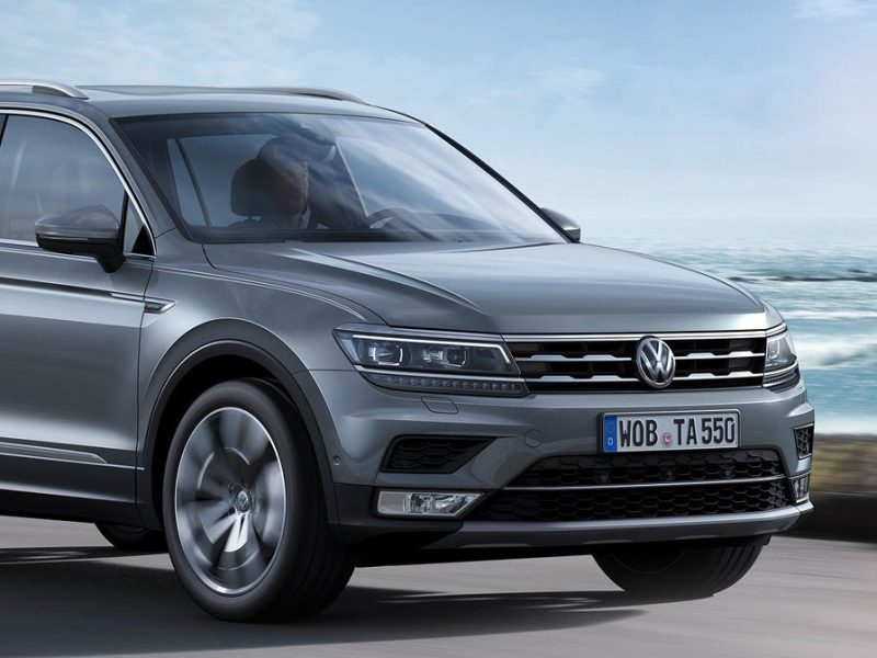 Volkswagen Tiguan Allspace SUV launched in India – 2020