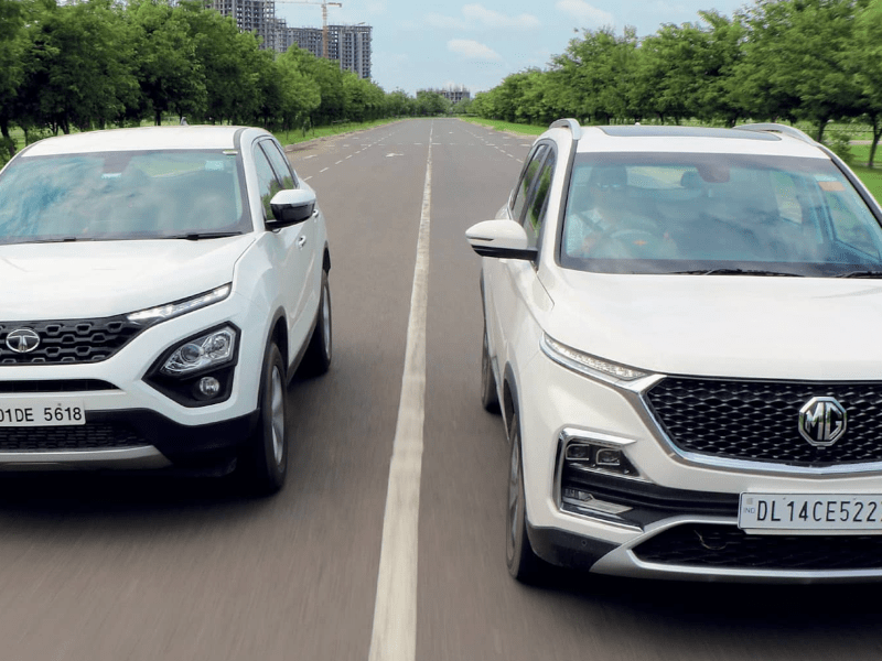 The Fight of the Bulls: TATA Harrier VS MG Hector