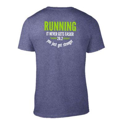 Running never gets easier mens