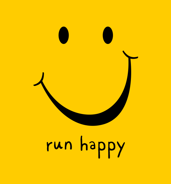 slogan run happy