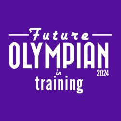 Kids running t-shirts Future Olympian