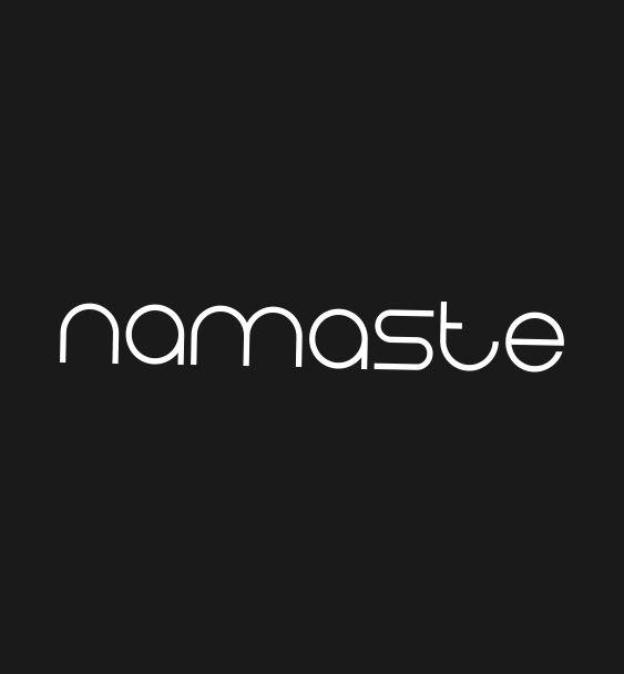 slogan namaste