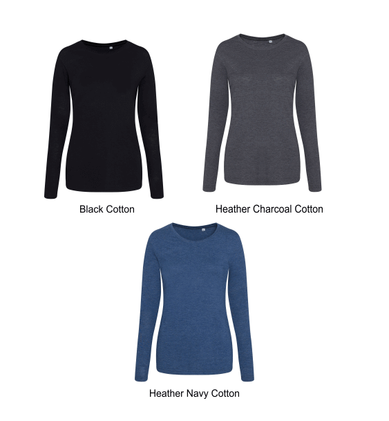 ladies-long-sleeve-cotton-colours