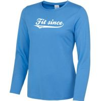 long sleeve running ladies fit since