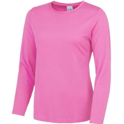 Ladies long sleeve running top