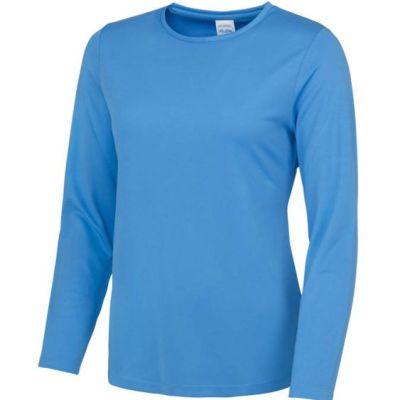 Ladies long sleeve running top