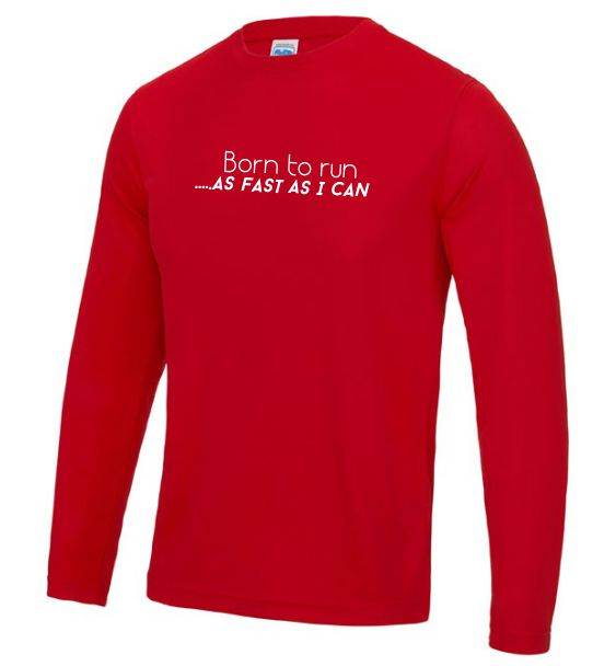 long sleeve running mens born to run