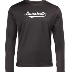 Mens long sleeve Running top runaholic