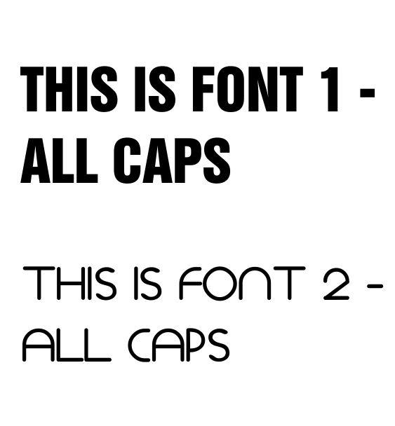fonts bibs