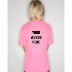 Junior custom t-shirts