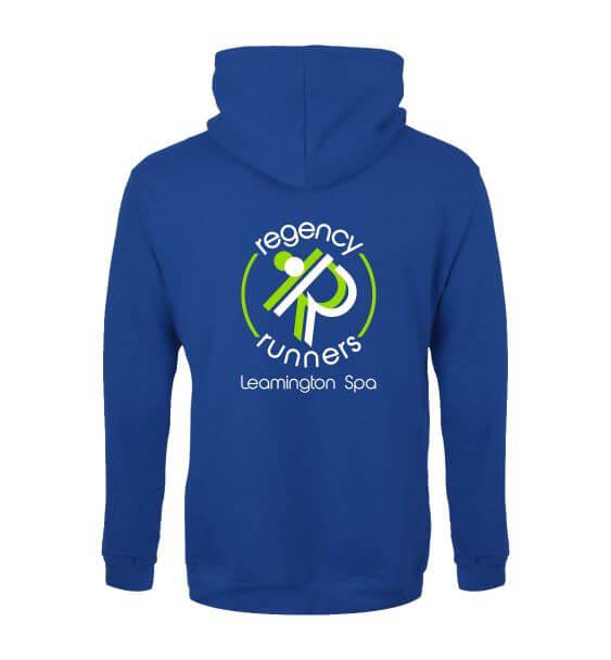 regency runners hoodie back