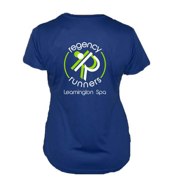 regency runners tshirt back