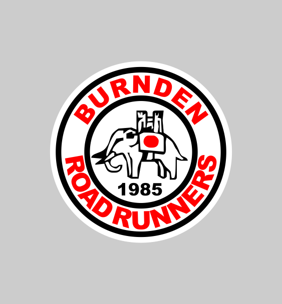 Burnden running club logo