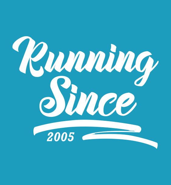 running since logo