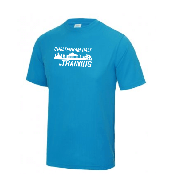 Cheltenham Half in training mens sapphire blue