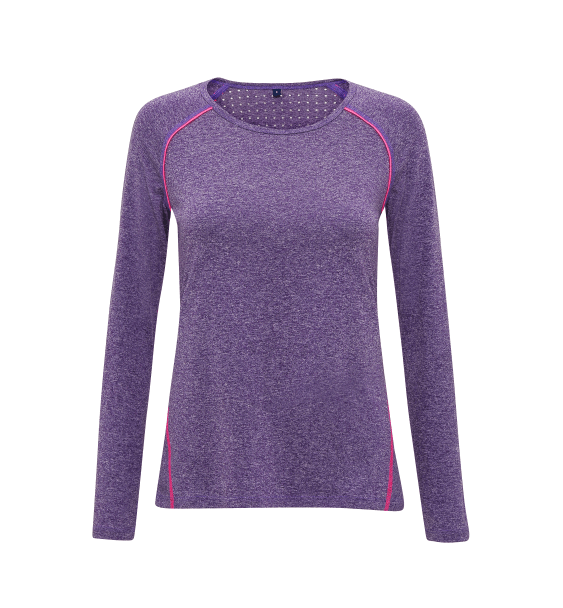 td laser ladies ls purple